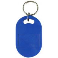 SOYAL AM KeyTag No.6 125 kHz kék Kulcstartós Proximity tag, nagy ovális alakú,  TK4100, 125kHz, kék.