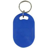 SOYAL AM KeyTag No.6 13.56 MHz kék Kulcstartós Proximity tag, nagy ovális alakú, F08, 13.56 MHz kék.