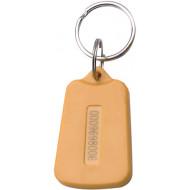 SOYAL AM KeyTag No.7 125 kHz sárga Kulcstartós Proximity tag, trapéz alakú,  TK4100, 125kHz, sárga.