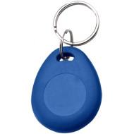 SOYAL AM KeyTag No.8 125 kHz kék Kulcstartós Proximity tag, csepp alakú,  TK4100, 125kHz, kék.