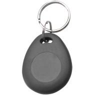 SOYAL AM KeyTag No.8 13.56 MHz szürke Kulcstartós Proximity tag, csepp alakú, F08, 13.56MHz, szürke.