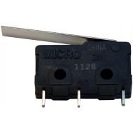 Tamperkapcsoló mikro Tamper mikrokapcsoló, 1 morzés (NO/NC), max. 250 VAC / 10 A terhelhetőség, beépíthető.