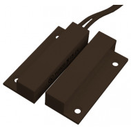 TANE FM-102 / BS-2011 barna Felületszerelhető és/vagy ragasztható, oldalsó vezeték, barna.