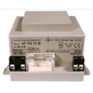 VF-TR 20A Beépíthető transzformátor kaputelefonokhoz, biztosítékkal, 13VAC, 1.5A, 20VA