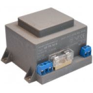 VF-TR 30A Beépíthető transzformátor kaputelefonokhoz, biztosítékkal, 13VAC, 2.3A, 30VA.