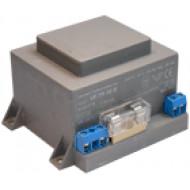 VF-TR 30B Beépíthető transzformátor riasztókhoz, biztosíték,16VAC, 1.9A, 30VA, biztosítékkal.