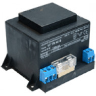 VF-TR 45B Beépíthető transzformátor riasztókhoz, biztosíték,16VAC, 2.8A, 45VA, biztosítékkal.