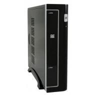 """LC Power 1370BII USB3.0 90W Black 90W,Black,1x5,25"""",1x3,5"""",ITX,Mini-ITX,Audio,70x250x315mm ,2xUSB3.0"""