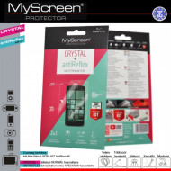 MYSCREEN cristal/antireflex képernyővédő folia törlőkendővel (LG D320N) G44362