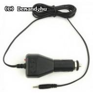 Adapter Tablet Szivargyujtós 5V 2.1Ah 2,5x0,7 plug Qoltec