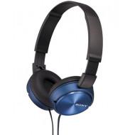Sony MDR-ZX310L Headphones Blue Fejhallgató,2.0,3.5mm,Kábel:1,2m,24Ohm,10Hz-24000Hz,Blue
