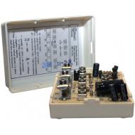 Videojel elosztó modul, 3+Koax vezetékes társasházi videokaputelefon rendszerekhez