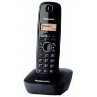 Panasonic KX-TG1611HGH DECT vezeték nélküli, hívószámkijelzés, órafunkció, nem bővíthető, szürke.