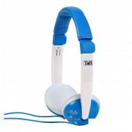 TnB CSKIDBL kék gyerek fejhallgató hangerőszabályzóval (max 85dB)