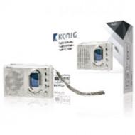 Rádió készülék FM ébresztő funkcióval hordozható König HAV-PR23