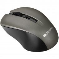 Canyon CNE-CMSW1G Wireless Grey Optikai,Cordless,USB,Grey,800/1000/1200DPI