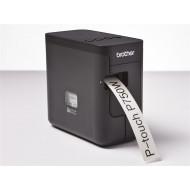 BROTHER Címkenyomtató PTP750WYJ1, TZe szalag 3.5 mm-től 24mm-ig