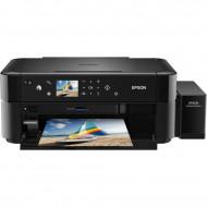 EPSON Tintasugaras ultranagy tintakapacitású nyomtató L850 MFP NY/M/S színes, USB, A4 37 lap/perc FF 5760x1440 dpi, 70ml patron