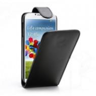 GIGAPACK Tok Álló Bőr Mágneses Flip Fekete Samsung Galaxy S4 G35947