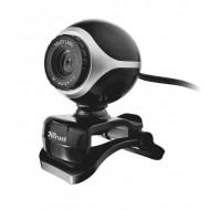 TRUST Exis webkamera Black/Silver Mic,USB