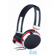 A4-Tech-Gembird MHP-903 fekete-piros fejhallgató