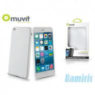 Muvit miniGel iPhone 6 Plus fehér hátlap