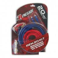 Renegade REN20KIT autóhifi erősítő beszerelő szett