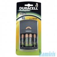Duracell CEF14 töltő szett + 2db AA elem