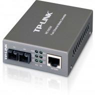 TP-Link MC100CM 100Mbps optikai (UTP-SC) média konverter