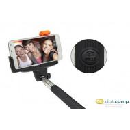Selfie-bot MP-100 monopod beépített bluetooth kioldóval fekete