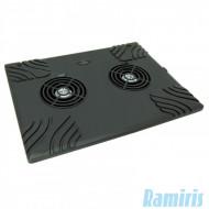 Esperanza Titanum Zonda notebook hűtőpad 2 ventilátorral