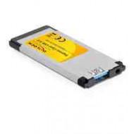 DELOCK CONVERTER Express Card - USB 3.0x1 (61872)