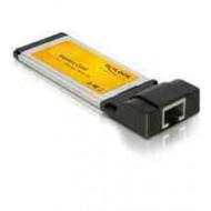 DELOCK CONVERTER Express Card - Gigabit LAN (66216)