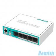 MikroTik RouterBOARD 750r2 L4 64Mb 5x FE LAN router