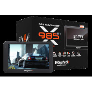 WAYTEQ X985BT HD   GPS Navigációs készülék