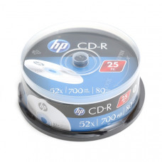 HP CD-R 700MB  25db/henger 52x