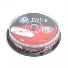 HP DVD-R 4,7Gb  10db/henger 16x