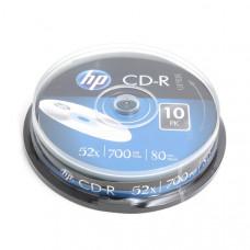 HP CD-R 700MB  10db/henger 52x