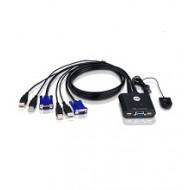 KVM Switch Aten CS-22U USB  (2 PC - 1 Monitor)