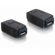 DELOCK Adapter USB micro-A+B female to USB micro-A+B female (65034)