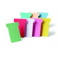 NOBO T-kártya tervezőtáblához, 2-es méret, NOBO,fehér