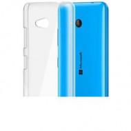 Utángyártott Microsoft Lumia 640 Ultra Slim 0.3 mm szilikon hátlap tok, átlátszó