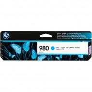 HP D8J07A Cyan No.980 tintapatron eredeti, 6,6K/ 200gr