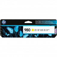 HP D8J09A Yellow No.980 tintapatron eredeti, 6,6K/ 200gr