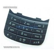 Nokia 6600i Slide billentyűzet / gombsor alsó fekete
