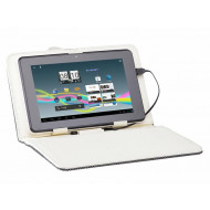 TRACER tablet tok, 9.7'' Street, beige , bőrhatású, kihajtható TRATOR43717