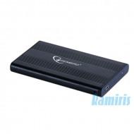 Gembird EE2-U2S-5 USB 2.0 fekete külső ház