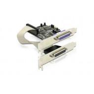 Printer kártya PCI 2xPort Delock 89125