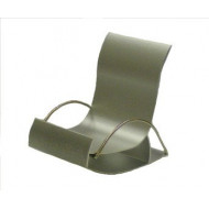 gigapack Asztali tartó METÁL fotel ezüst GP-13043 utángyártott