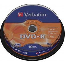 DVD-R Verbatim 4,7Gb 16x 10db/henger